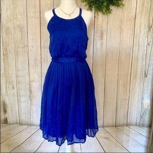 Banana Republic. cobalt blue dress. Size 6